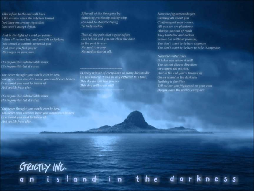 Tony Banks - An Island in the Darkness