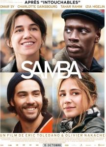 Samba (2015) - Poster
