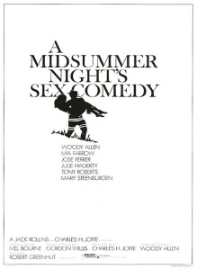 A Midsummer Nights Sex Comedy (1982) - Poster