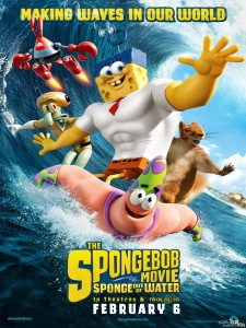 Sponge Out of Water(2015) - Poster